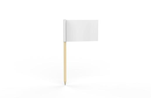 Flag,Toothpick, Sign, Symbol, Mock-up