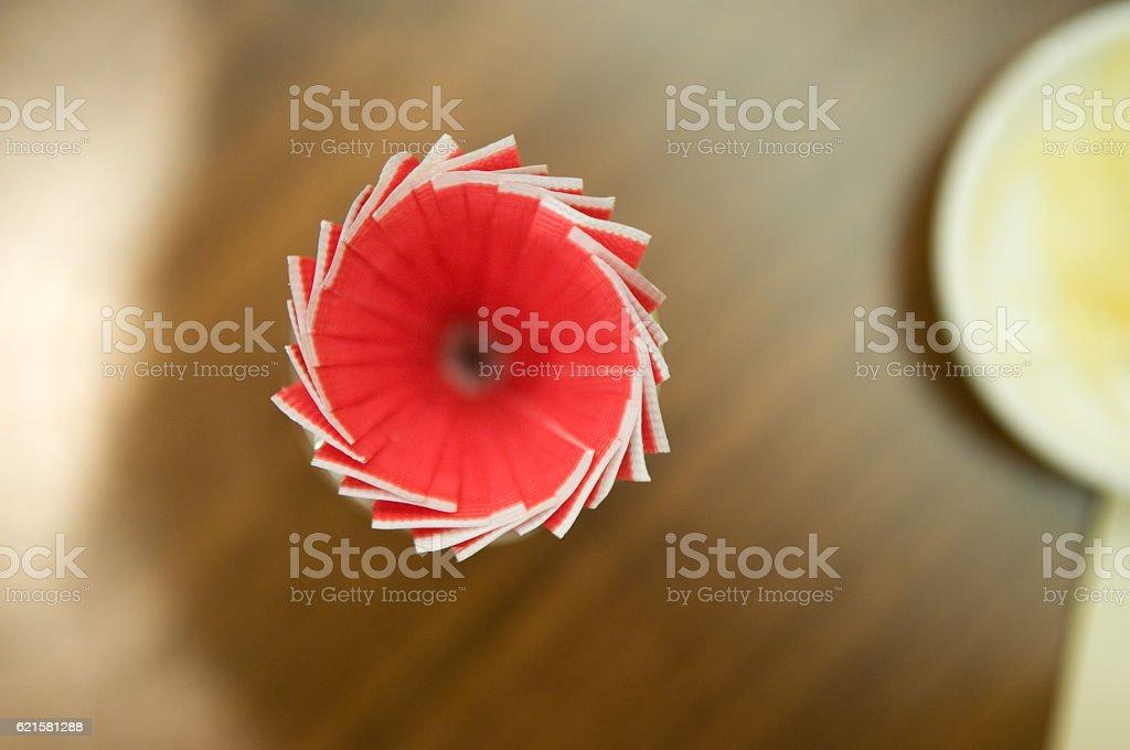 Toothpick Spiral stock photo