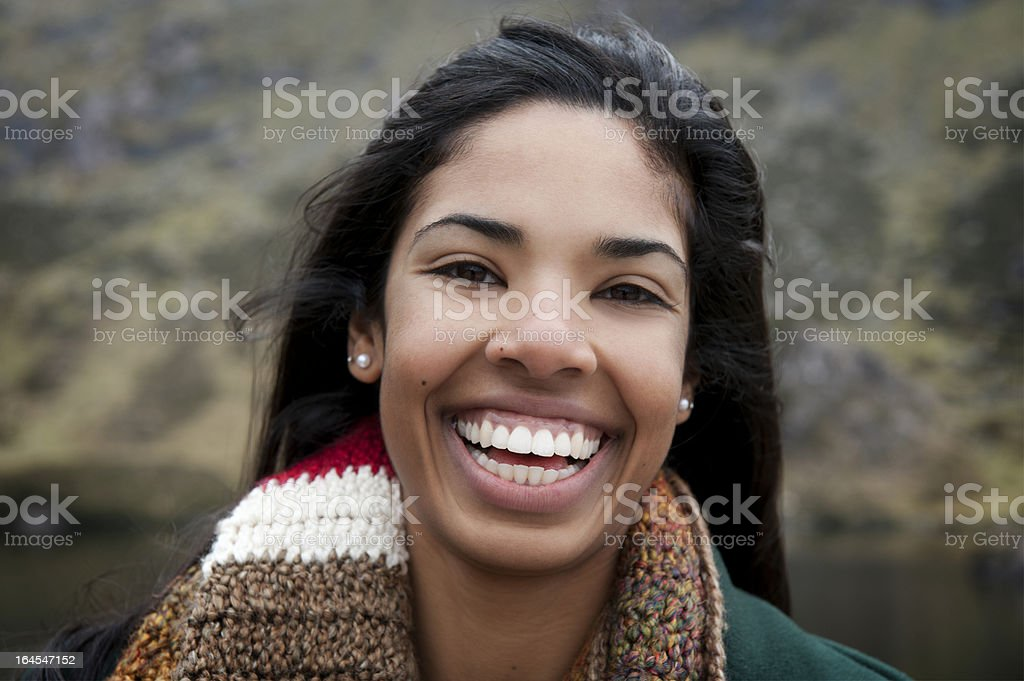 Toothy Smiles royalty-free stock photo