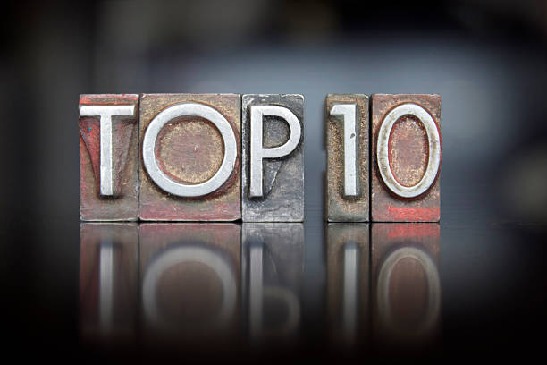 Top 10 Rilievografia - foto stock