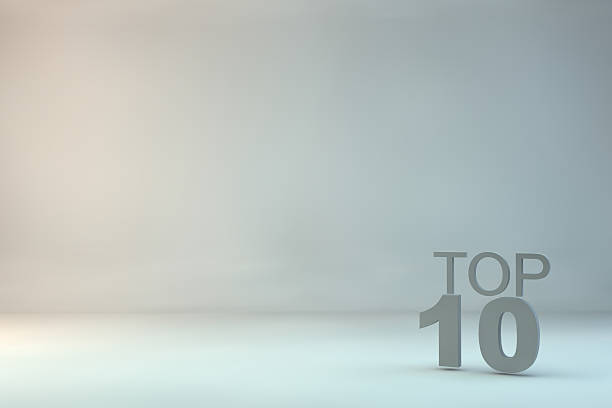 top 10 on background - number 10 stock photos and pictures