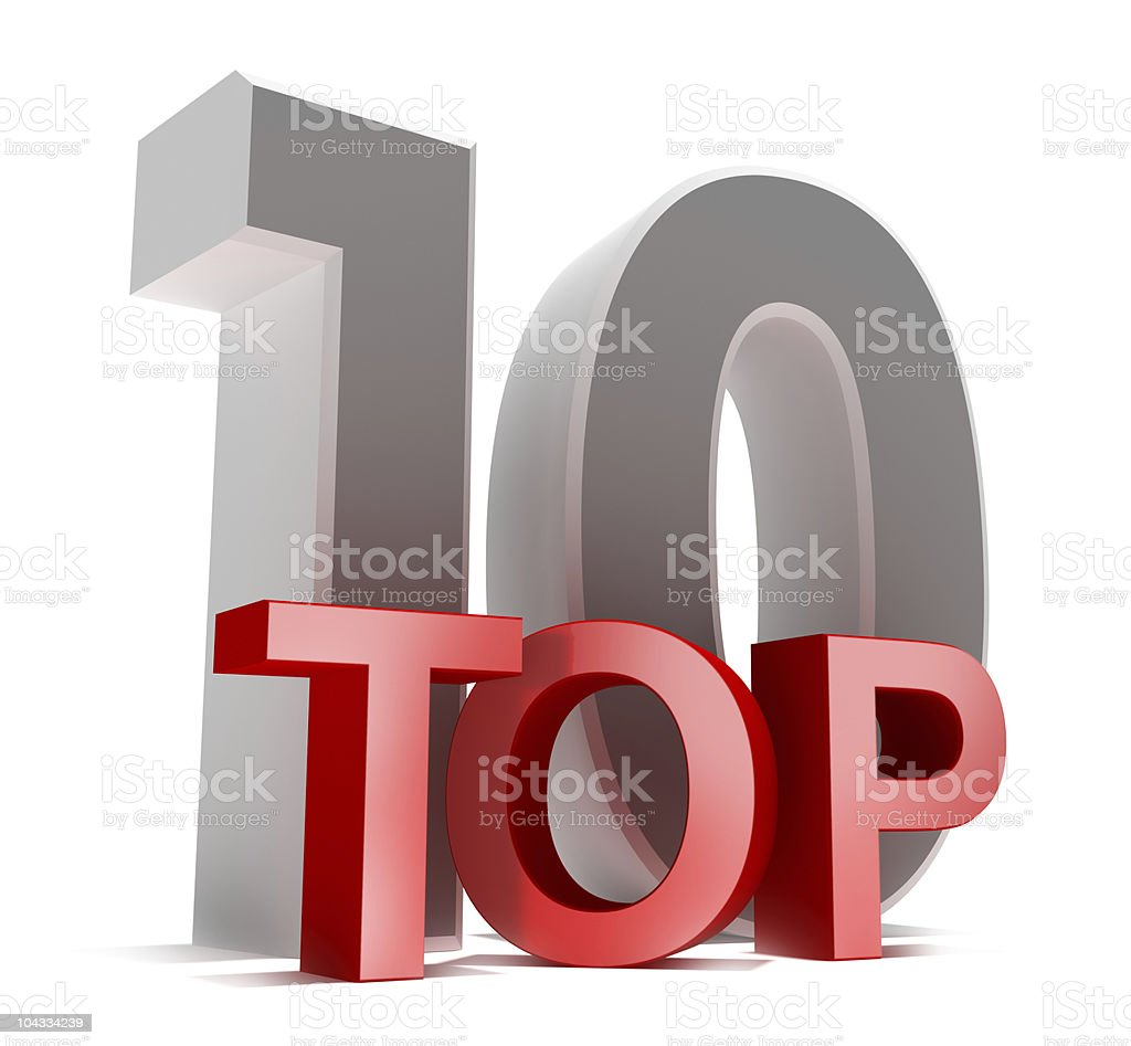 Top 10 stock photo