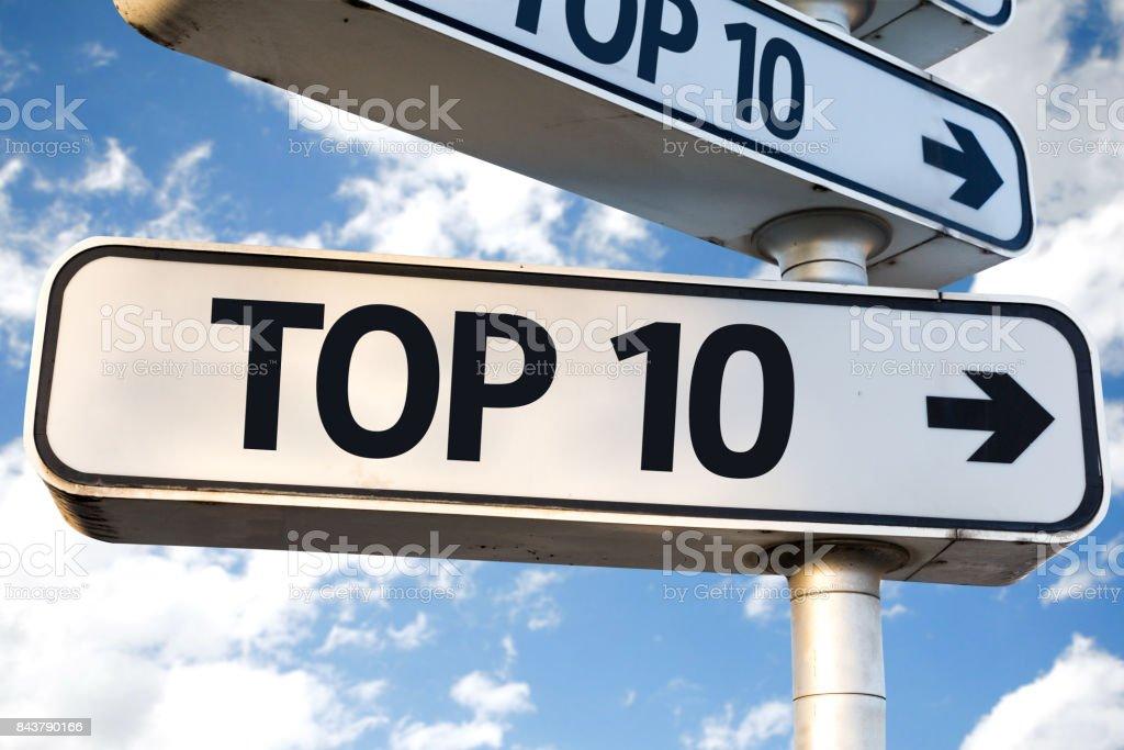 Top 10 - foto stock