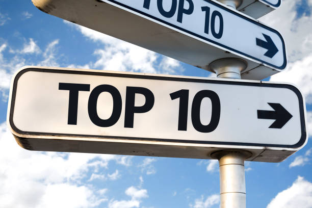 Top 10 Top 10 sign high section stock pictures, royalty-free photos & images