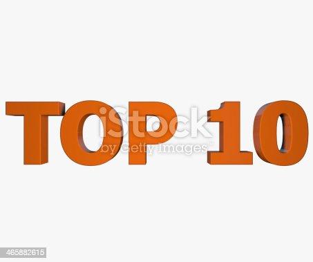 istock Top 10 text 465882615