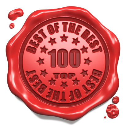 istock Top 100 in Charts - Stamp on Red Wax Seal. 186602143