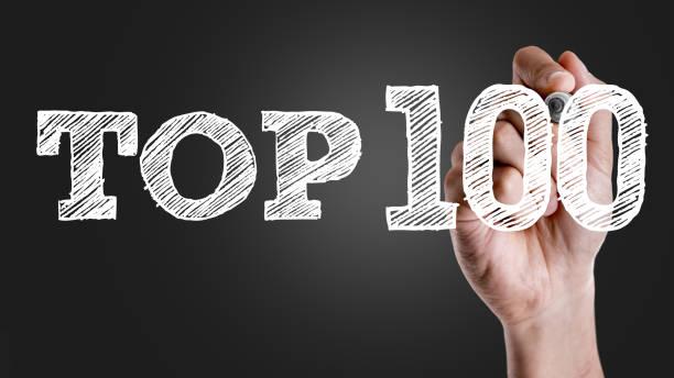 top 100 - nummer 100 stock-fotos und bilder