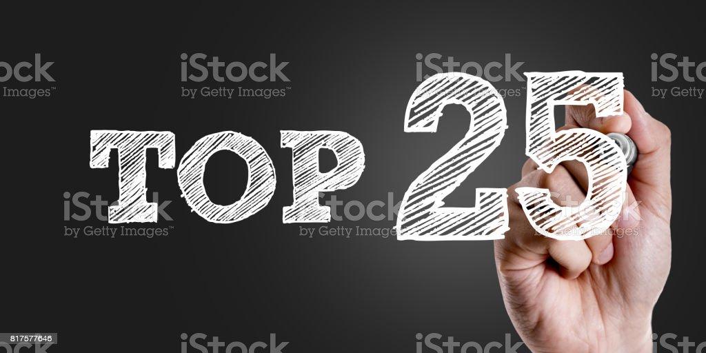 Top 25 stock photo