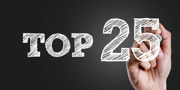 Top 25 Top 25 sign high section stock pictures, royalty-free photos & images