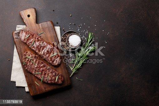 istock Top blade or denver steak 1133793519