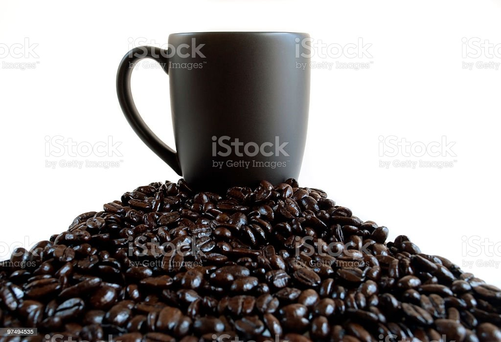 Top Coffee royalty-free stock photo