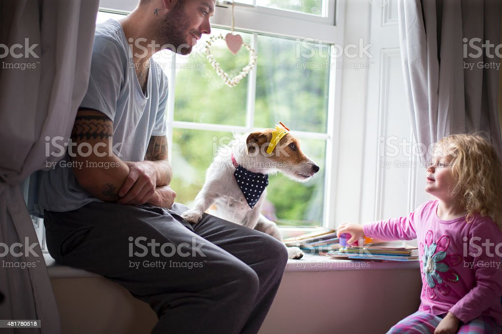 Top Dog stock photo