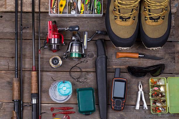 top Angeln geht und fishing gear – Foto