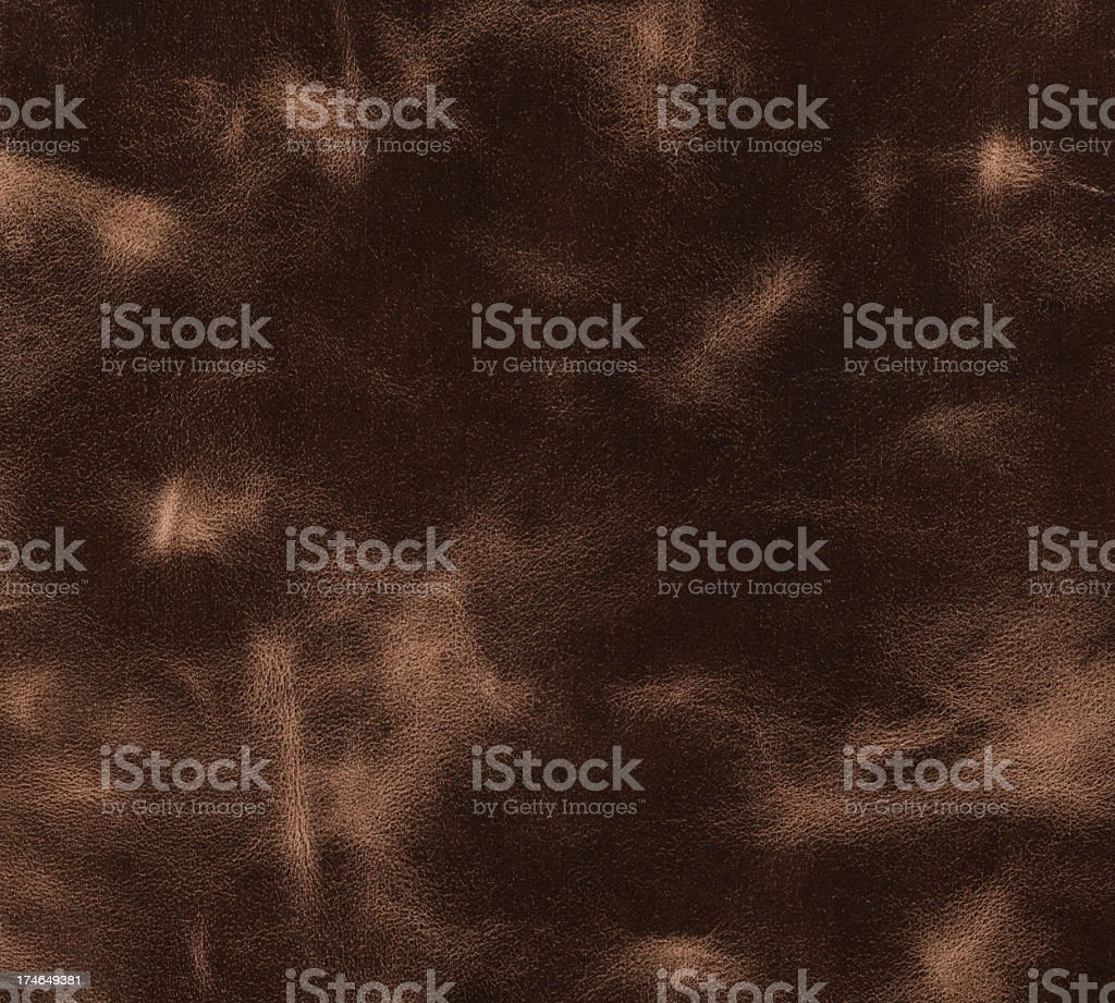 top grain leather with slight marks royalty-free stock photo
