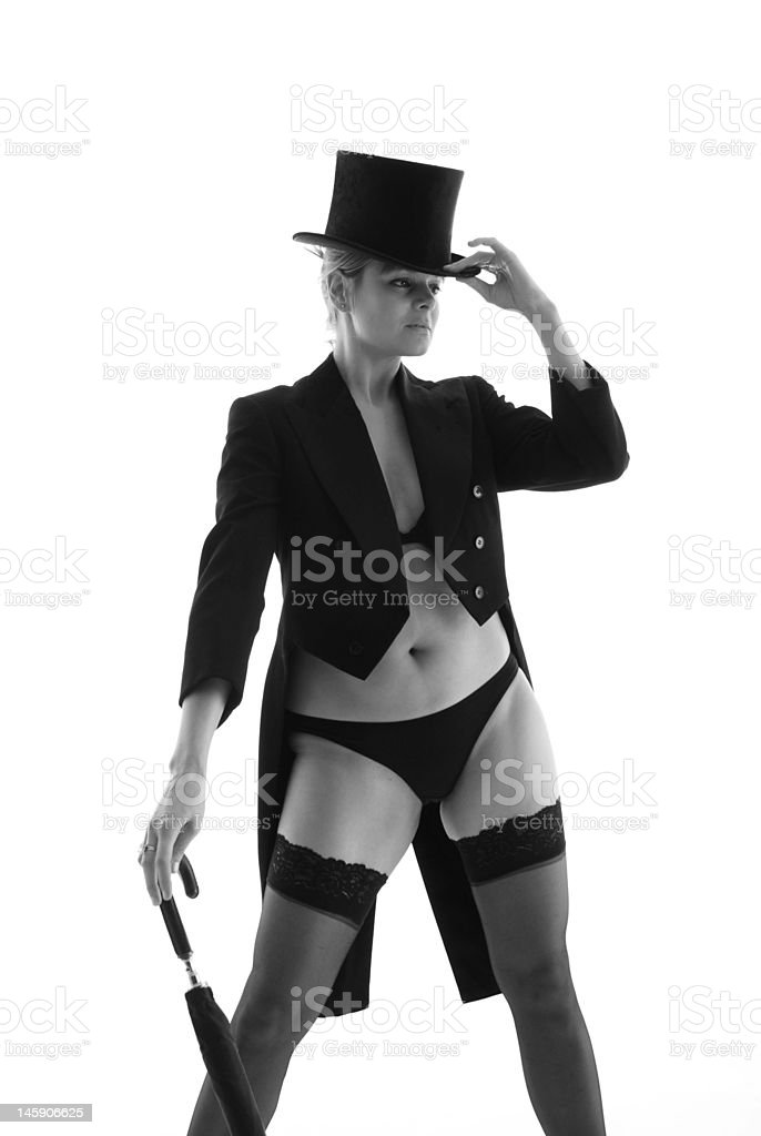 Top Hat and Tails stock photo