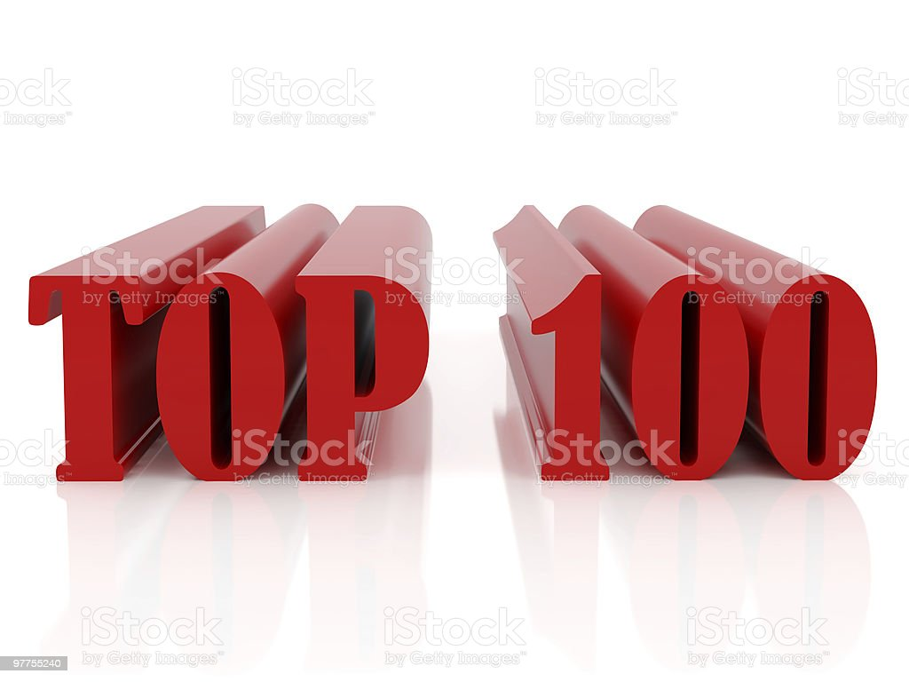 Top hundred stock photo