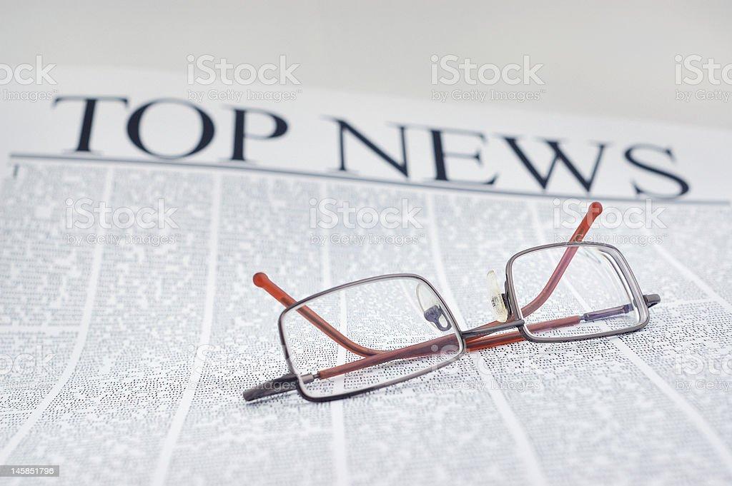 top news royalty-free stock photo