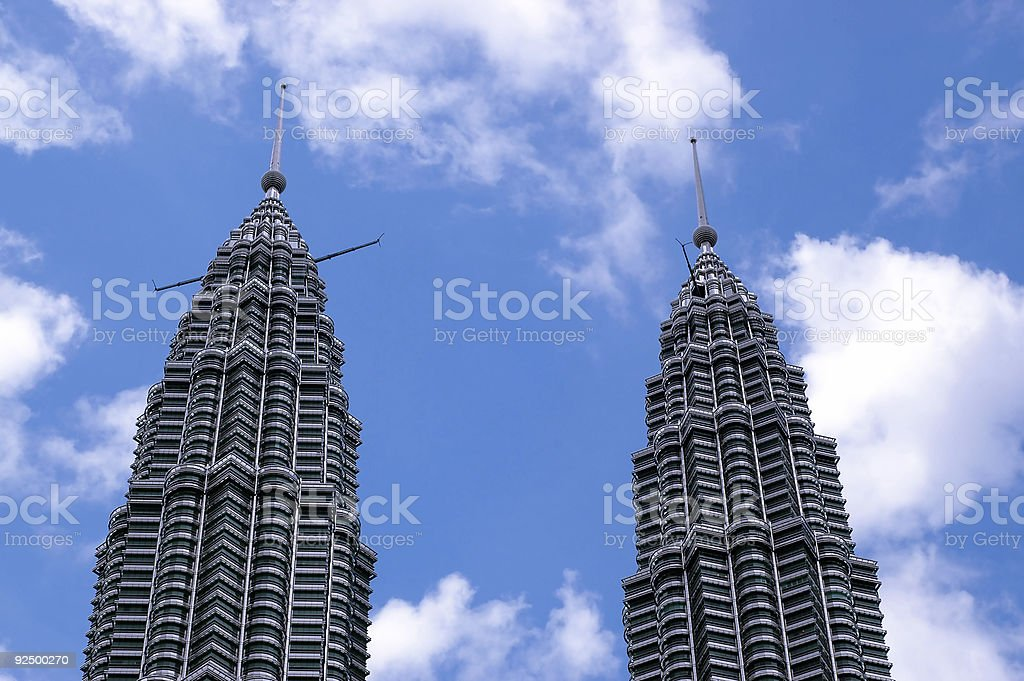 Top of building royalty-free stock photo