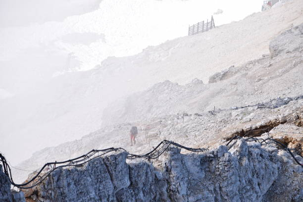 Top of Germany - Zugspitze stock photo