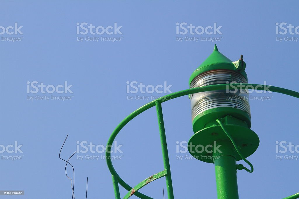 top of light house stock photo