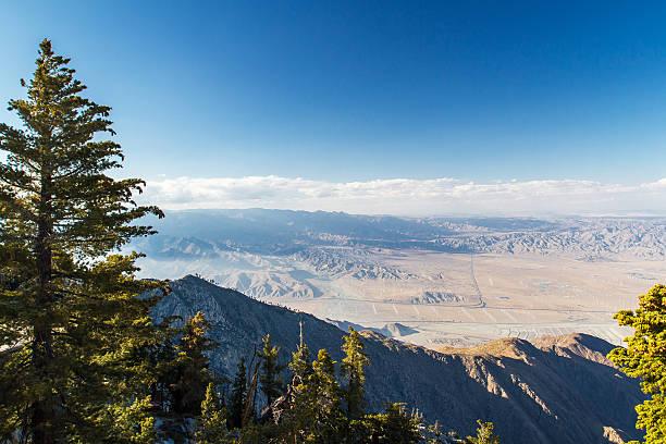 Top of Mount San Jacinto stock photo