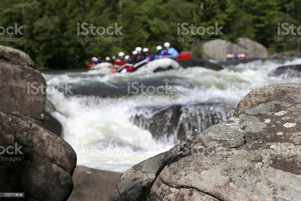 Top of Rapids royalty-free stock photo