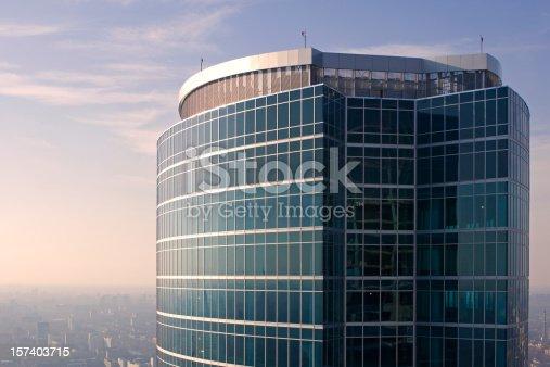 istock Top of skyscraper 157403715