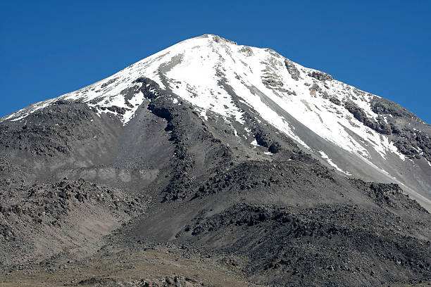 Top of the Orizaba volcano Top of the Pico de Orizaba volcano, highest mountain in Mexico. orizaba stock pictures, royalty-free photos & images