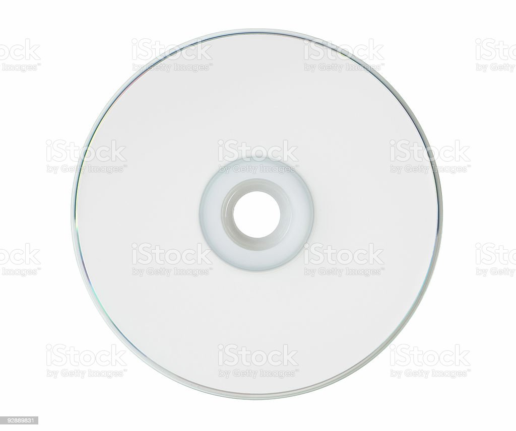 CD/DVD Top stock photo