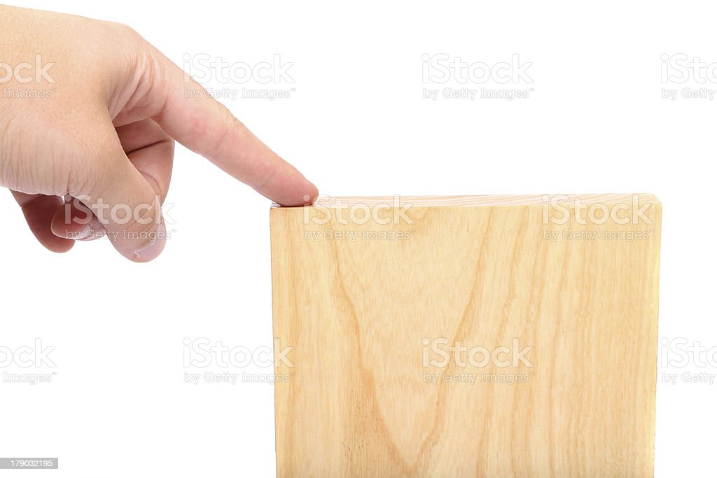 top plank of elm close-up royalty-free stock photo