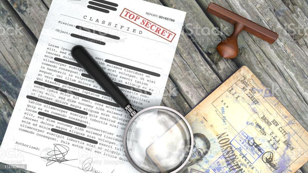 Top secret document, declassified, confidential information, secret...
