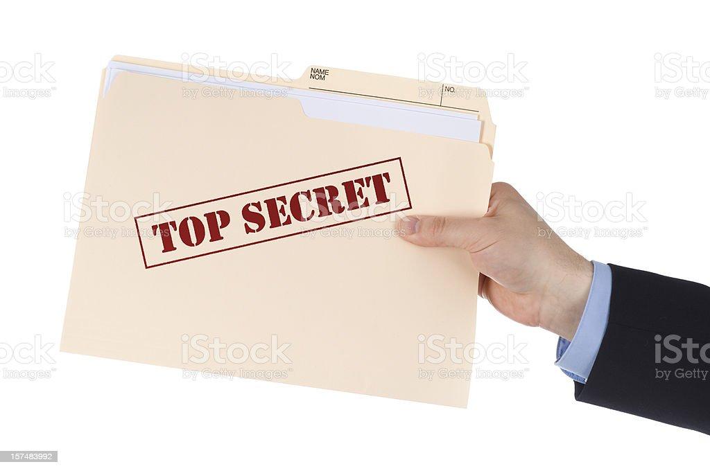 Top geheime Dokumente – Foto