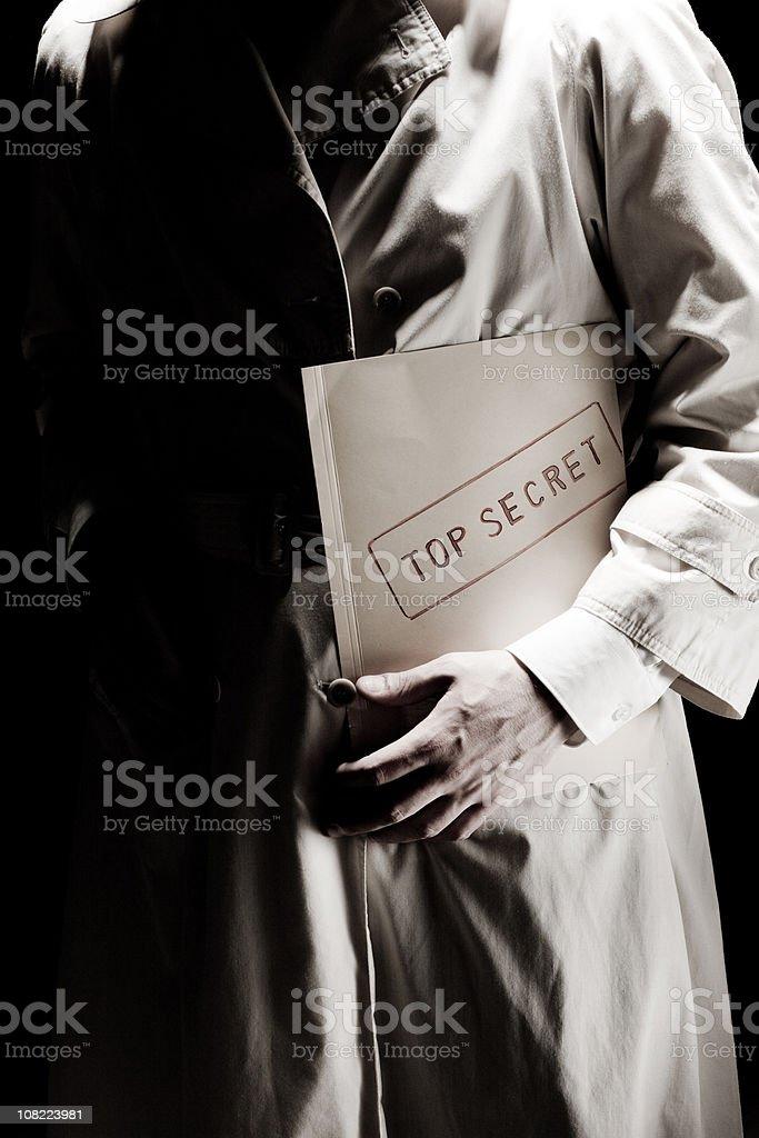 Top Secret Information stock photo