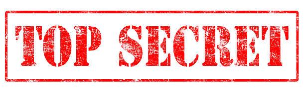 top secret-timbro - timbro foto e immagini stock