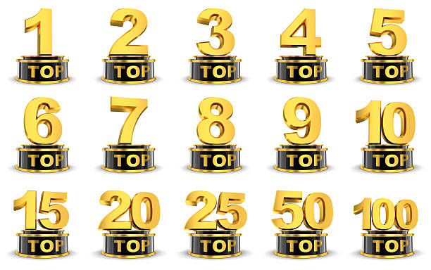 top symbols - number 20 stock photos and pictures