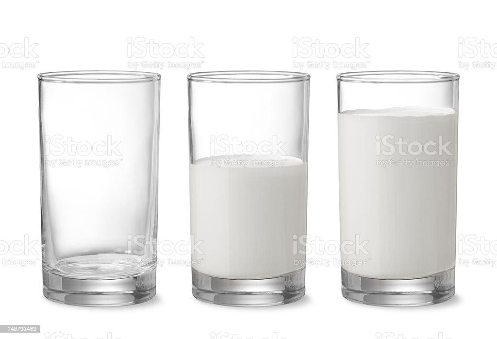 top up the milk stock photo