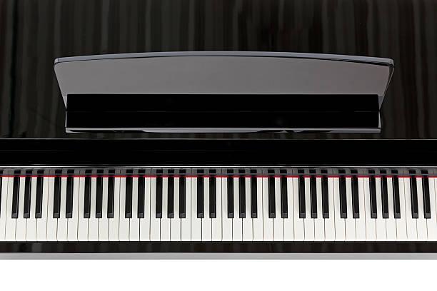 Vue du haut de black piano - Photo