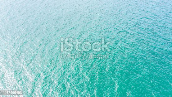 959508862 istock photo Top view blue sea for background 1167999493
