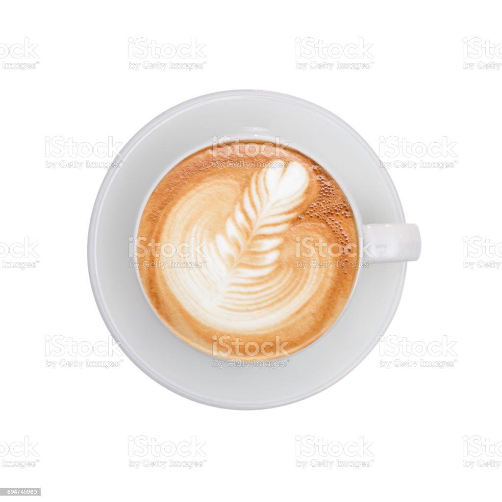 Vista superior - café - foto de acervo