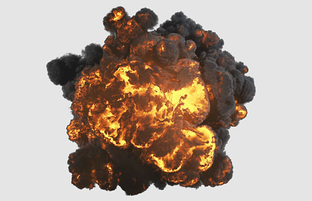Top view explosion with clipping path Top view explosion with clipping path slow motion stock pictures, royalty-free photos & images