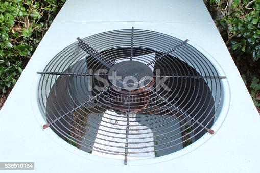 istock Top view of a typical heat pump 836910184