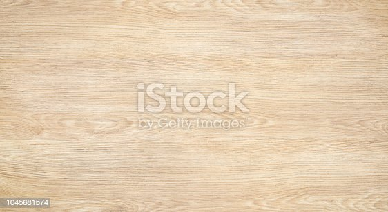 Top view of a wood or plywood for backdrop. Light wooden table with a crack. Wood texture background. Surface of wood with nature color and pattern.