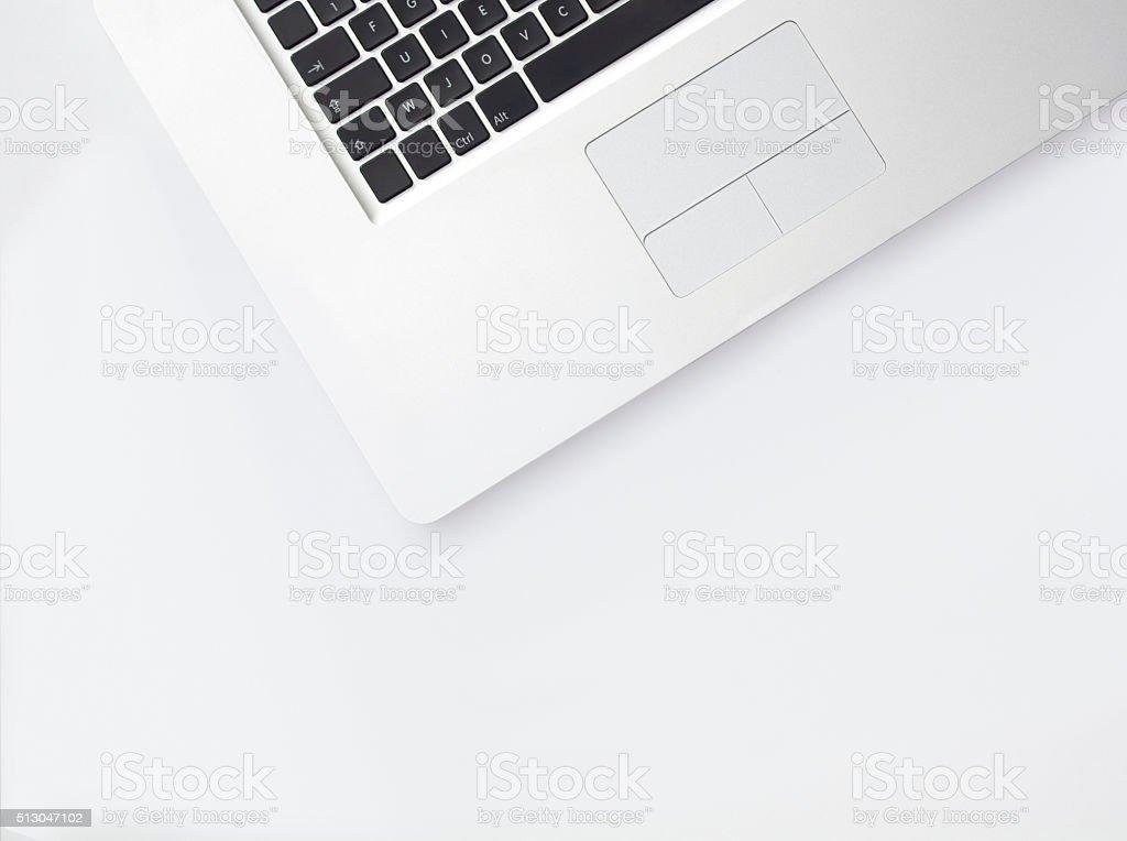 Aufsicht abstrakte Laptop – Foto