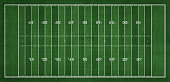 istock Top view of American Football field 1290903508