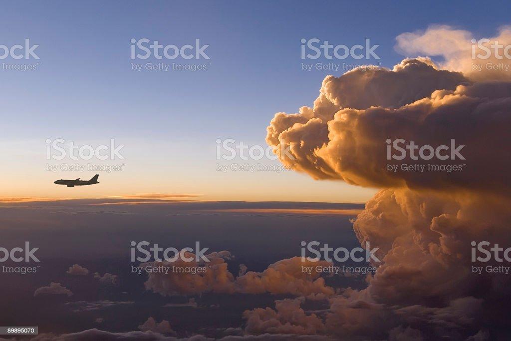 Штормовой спереди Стоковые фото Стоковая фотография