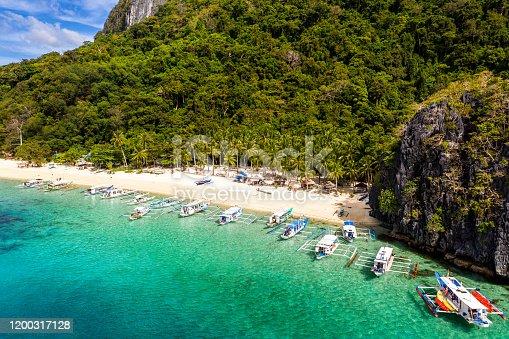 Seven Commandos beach, El Nido, Palawan, Philippines - Tour A