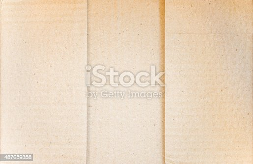 istock Top view of  Bottom carton box 487659358