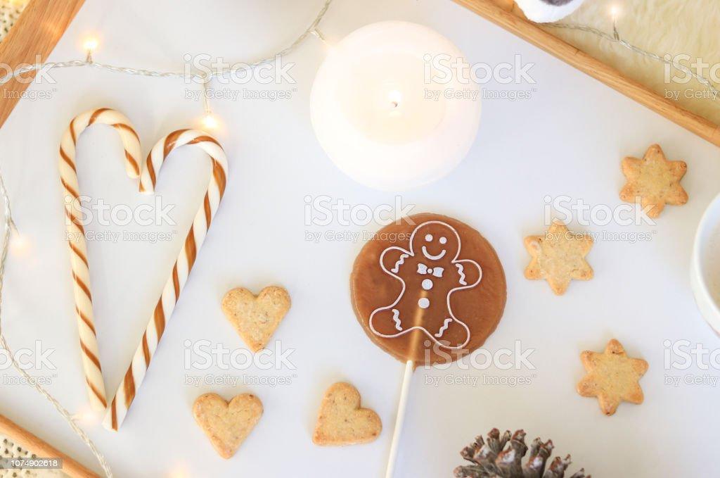 flach 1 Lebkuchen Weihnachten Gießform
