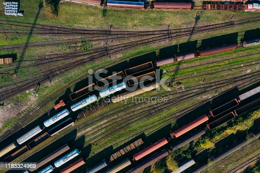 Freight Train, Train - Vehicle, Freight Transportation, Delivering,