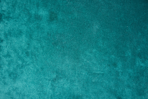 istock Top view of dark green velour fabric 928376866